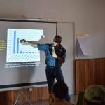 Olman Murillo presents results