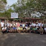Participantes de la Casa Abierta de Investigadores ACG, Estación Experimental Forestal Horizontes