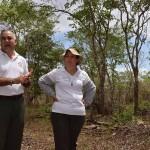 Roger and Milena at the Huerto Semillero de Cocobolo