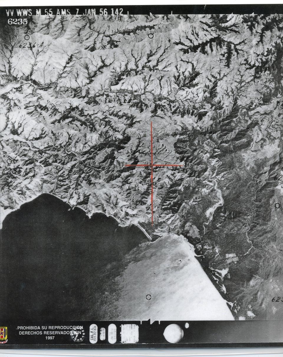 Naranjo y Nancite, 1956